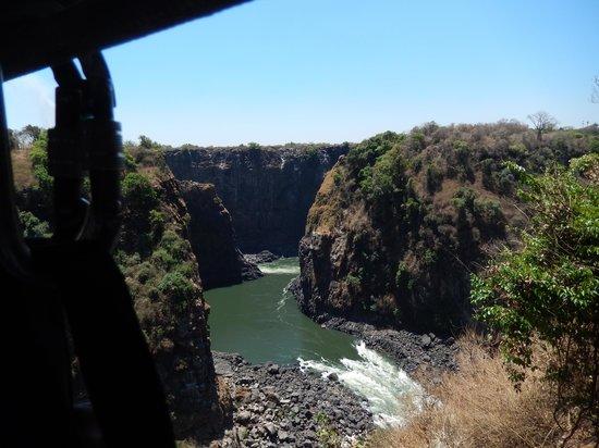 Victoria Falls Bridge Company : A view from the bridge