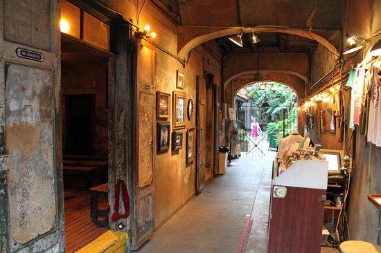Vestibule at Preservation Hall