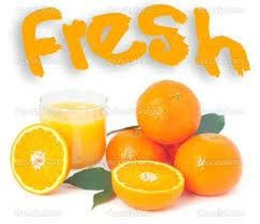 Yog-inn Frozen Yogurt & Master Waffles: A Great start to the day with some Juicey Fresh Oranges ~ Packed with Vitami 'C'