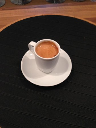 The Steading Bistro: Espresso coffees