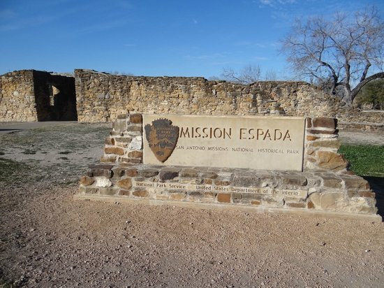 Mission Espada: Entrance of the Mission
