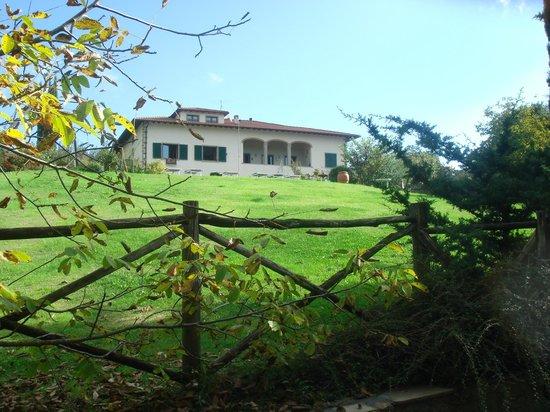 Agriturismo Lucatello: accesso alla casa poderale