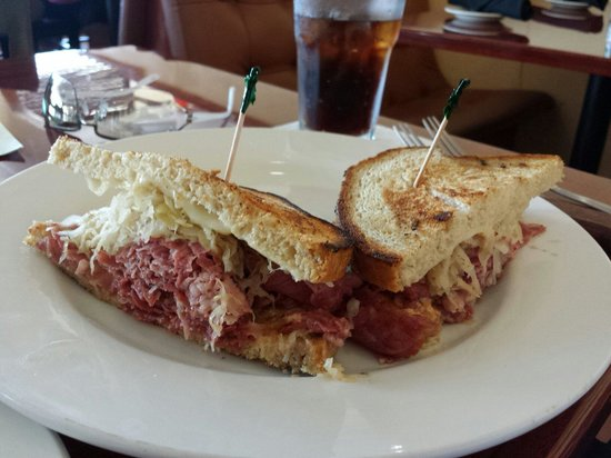 Sorrento Little Italy: Reuben and meat ball sandwiches