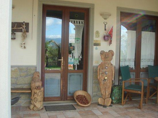 Agriturismo Lucatello: ingresso reception