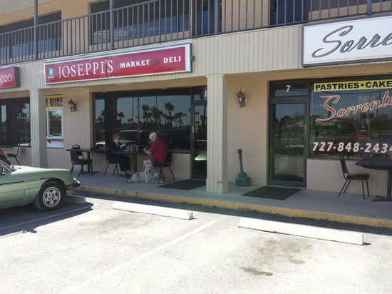 Sorrento Italian Restaurant, Bakery & Deli: Strip Mall Location