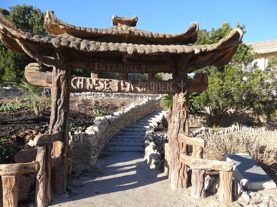 Entrance To The Chinese Garden Picture Of Japanese Tea Gardens San Antonio Tripadvisor