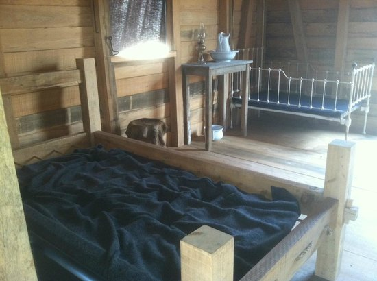 Tours by Isabelle: Laura Plantation Slave Cabin Interior
