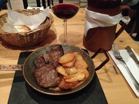 Lacrimi si Sfinti: Grilled Steak