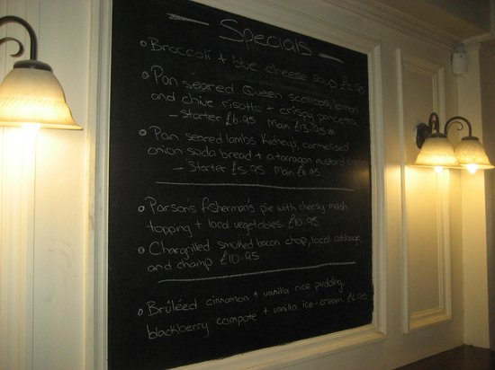 The Parsons Nose : Blackboard
