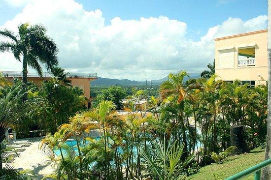 The Fajardo Inn: view from the hallway