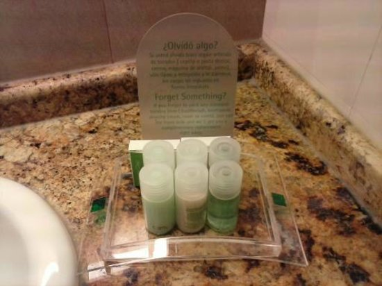 Holiday Inn Buenos Aires Ezeiza Airport: FARTAS E BOAS AMENITIES.