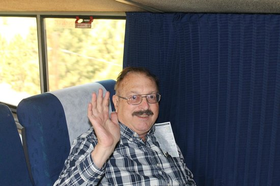 California Zephyr : Me in my Coach seat on the Zephyr