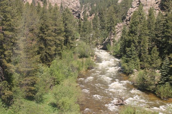 California Zephyr : The Rocky Mountains area from my Coach Seat window