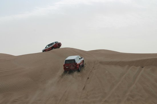 Arabian Adventures: Desert Safari - Dune Bashing