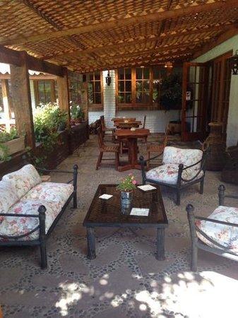 Hotel Finna Estampa : Terraza