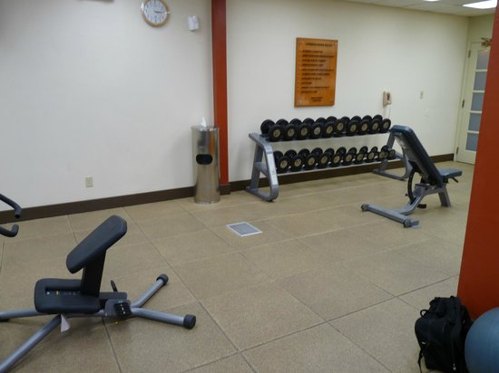 Embassy Suites by Hilton Flagstaff: Another view of the free weights