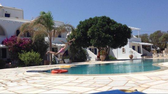 Fyrogenis Palace Hotel: vue de l'entrée