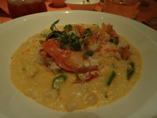 Sinatra: risotto au homard