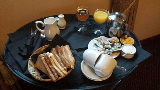 Best Western Dryfesdale Country House Hotel : part of our breakfast