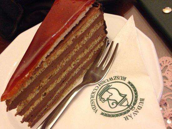dobos torta képek Dobos torta!!   Picture of Ruszwurm, Budapest   TripAdvisor dobos torta képek