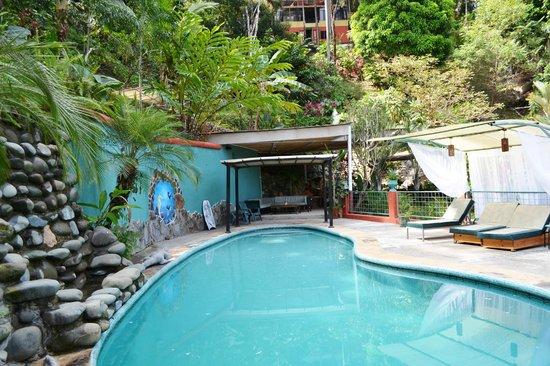 Condotel Las Cascadas: Pool area Feb. 6, 2014