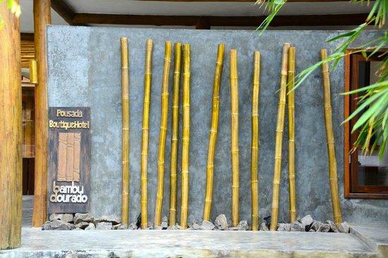 Pousada Bambu Dourado : Acesso à pousada