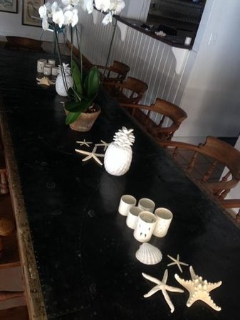 The Custard Apple : the inside private dining