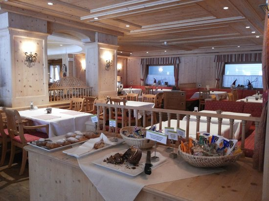 Cyprianerhof Dolomit Resort: sala pranzo