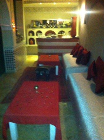 Riad d'or - Restaurant: Il bar
