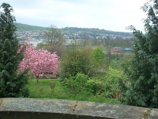 Old St Leonard's Manse: View from bedroom
