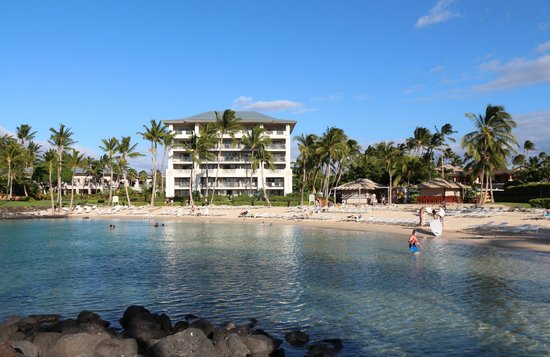 Fairmont Orchid, Hawaii: Privatstrand