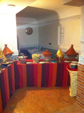 Riad d'or - Restaurant: Bufe di e