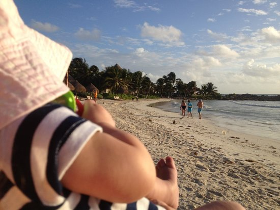 Maya Tulum Resort: beach