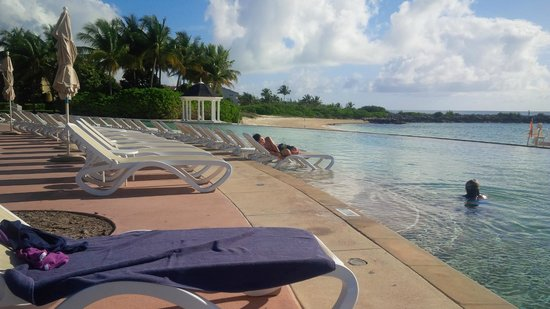 Grand Lucayan, Bahamas: Infinity pool