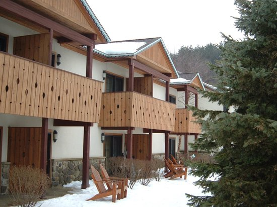 Inn at Holiday Valley : Our Balcony