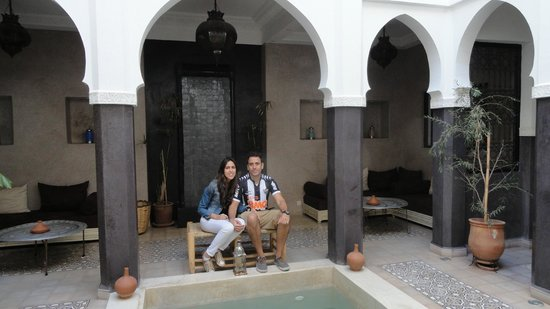 Riad Alnadine : My husband and i