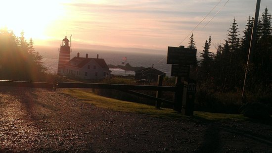 West Quoddy Head Station: The Nearby Lighthouse