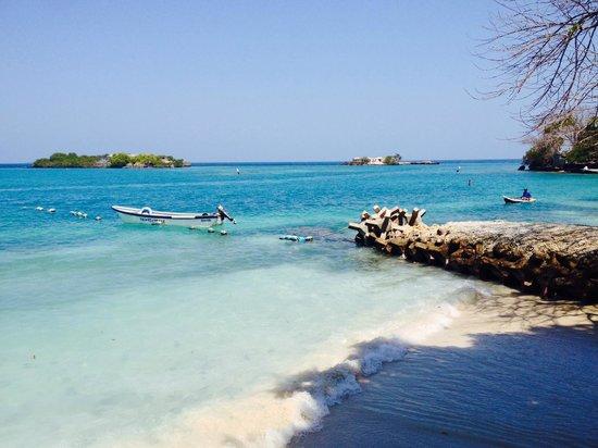 Hotel San Pedro de Majagua : Playa con música