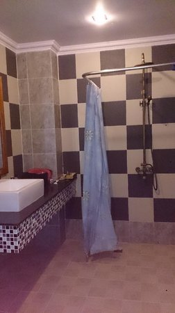 Delux Villa: Shower