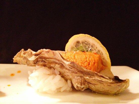 Saketome Sushi: Uni and Oysters