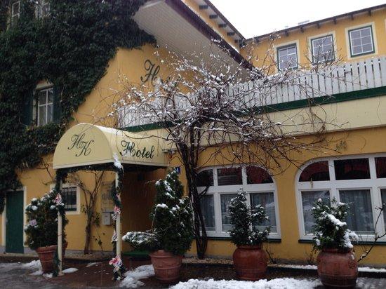 Kramer Hotel: Hotel Krammer im Jänner 2014