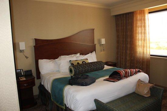 Sheraton Old San Juan Hotel: Bed area