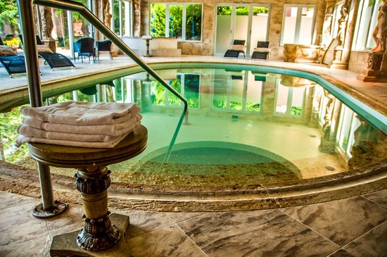Nugget Point Queenstown Hotel: The amazing SPA area