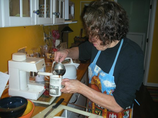 Isabel's Bed and Breakfast : Expresso