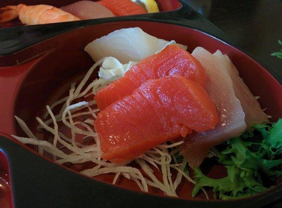 Sushi Royal Tokyo: Sashimi in Bento Box.