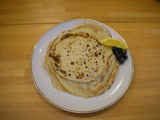 Isabel's Bed and Breakfast: crepes