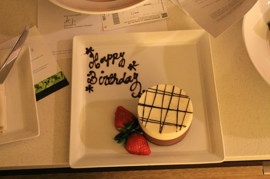 InterContinental New York Times Square : birthday amenity