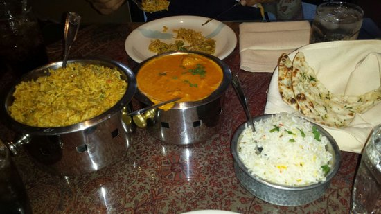Jewel of the Crown, Cuisine of India