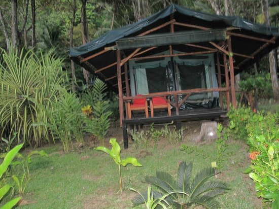 La Leona Eco Lodge: Ocean view tent cabin