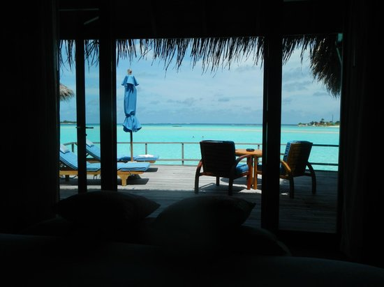 Anantara Dhigu Maldives Resort: View from the room